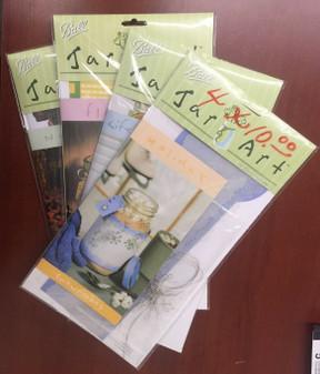 BALL Jar Mason Craft Holiday Art Kits JAR ART KITS Set of 4 Assorted New Package