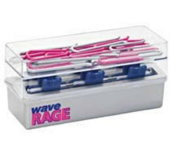 Wave Rage DC300 Natural Hair Curler (New) Hot Rollers SPIRAL CURLS WAVES PAGEANT