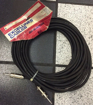 """ProCo EXCELLINES 100 Ft 14 Gauge Speaker Cable with Jumbo 1/4"""" Connectors"""