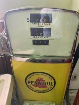 Vintage Pennzoil Gas Pump-restored!