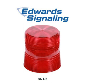 Edwards Signaling 96-LR Red Replacement Lens (New!)