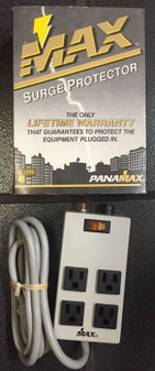 Panamax Max 4 Surge Protector New In Box MAX 15 AMPS 330 V LIFETIME WARRANTY!!!