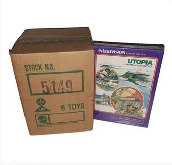 Utopia by Mattel Electronics | Intellivision (Factory Sealed!)