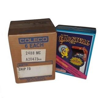The Official Carnival by SEGA | Intellivision | Coleco (Factory Sealed!)