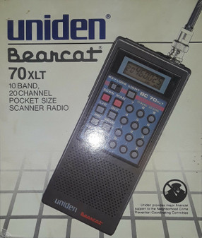 Uniden Bearcat 70XLT Pocket Size Scanner Radio (BRAND NEW!)
