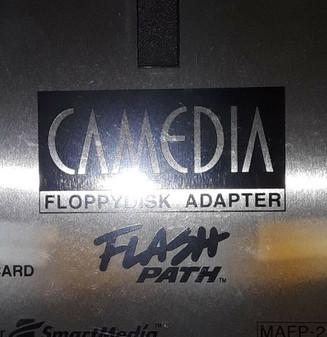 Olympus MAFP-2E Camedia Flash Path Floppydisk Adaptor (BRAND NEW!)
