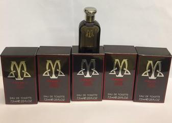Lot of 5 Maxim's Pour Homme Eau de Toilette Splash  0.25oz/7.5ml  RARE