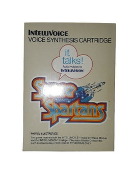Space Spartans by Mattel Electronics | Intellivision (Factory Sealed!)