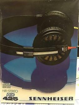 Genuine Sennheiser HD425 HD 425 New In Box NOS VINTAGE HIFI!