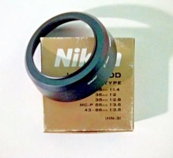 Nikon (Vintage) HN-3 Lens Hood (Screw-In Type)