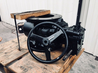 "8"" VALMATIC CCPV CAM-CENTRIC PLUG VALVE Worm Gear w/ Handwheel 5808R/7A00P1N1"