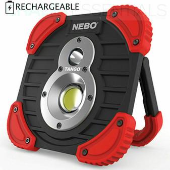 NEBO TANGO 1000 Lumen Rechargeable LED Flashlight Spot Work Light Power Bank 895