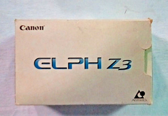 Canon (Vintage) Elph Z3 APS Point & Shoot Film Camera (BRAND NEW!)