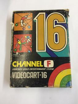 VideoCart 16 CIB Complete in Box Fairchild CHANNEL F Video Game Cartridge NEW!!