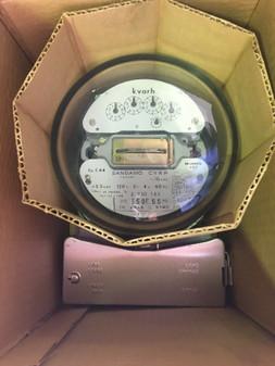 Sangamo Weston 24-hour Dial CLOCK Schlumberger Model 902922-252 NOS
