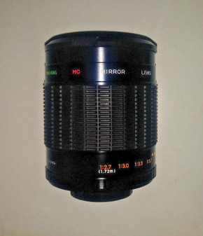 Samyang 500mm/f8.0 Multi-Coated Mirror Universal Lens (BRAND NEW!)