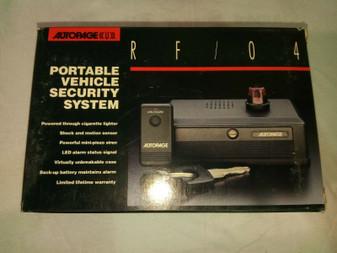 AUTOPAGE RF/04 CAR PORTABLE SECURITY SYSTEM FREE SHIPPING Car Alarm