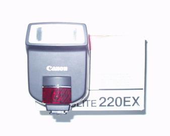 Canon (Vintage) Speedlite 220 EX Electronic Flash (BRAND NEW!)