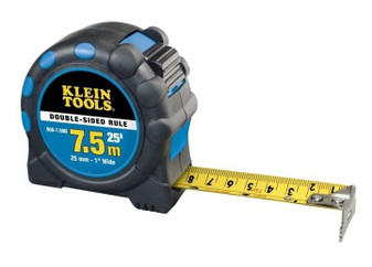 Klein Tools 908-7.5ME | Double Sided Metric/English Power Return Rule (New!)