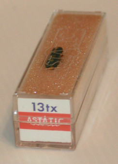 New Astatic 13TX Plug-in Soundflo Stereo Cartridge with Needle/Stylus NOS Old st
