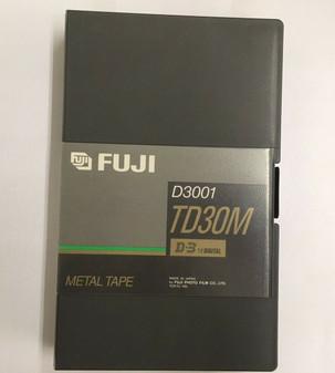 FUJI FUJIFILM D3 D3001 TD30M D-3 1/2 Digital Tape BRAND NEW