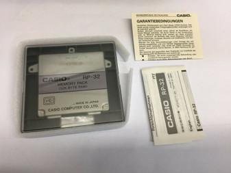 MEMORY Module Card casio PB-1000 PB-1000C calculator 32k 32ko 32 ko RP32 RP33