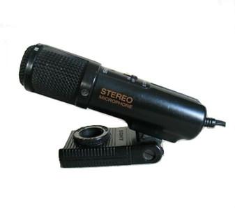 Sony ECM-909 Electret Condenser Stereo Microphone (Brand New!)