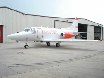 Rockwell Sabreliner T39A Cargo T39