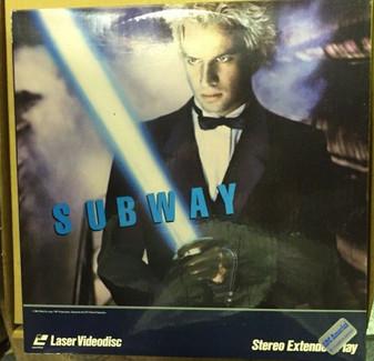 SUBWAY Laserdisc,  New SEALED in Plastic