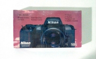 Nikon (Vintage) Getting the Most From Your Nikon N6006 by Brett Froomer (VHS)