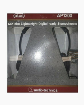Atus AP1200 Lightweight Digital-ready Stereophones by Audio Technica (New!)