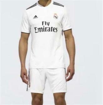 Adidas Real Madrid Home Jersey and Shorts Men's Medium