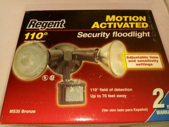 REGENT MS35 | 110' DEGREE FOD | MOTION SENSOR HALOGEN SECURITY FLOODLIGHT