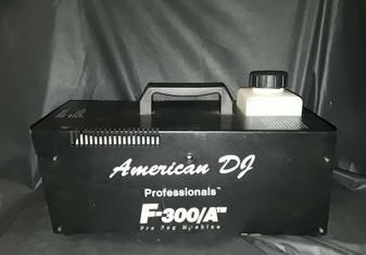 American DJ F-300/A Pro Fog Machine (New!)