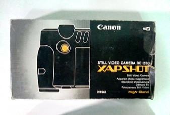 Canon (Vintage) RC-250 Xap Shot Still Video Camera