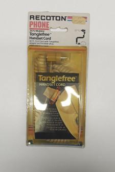Recoton T-60 Tanglefree Handset Cord w/Adapter and Modular Plug (BRAND NEW!)