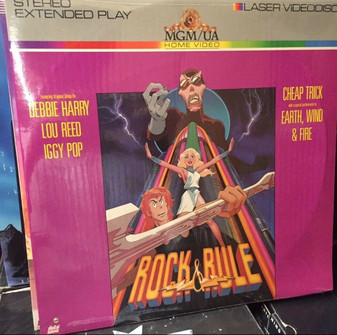 Rock and Rule laserdisc  NOT D V D BRAND NEW SEALED RARE!!! ROCK&RULE