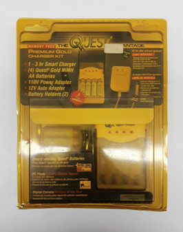 The Quest Gold Advantage Premium Camera Battery Charger Kit (BRAND NEW!)