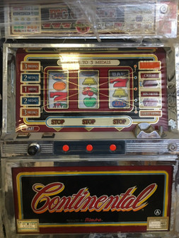 Antique Slot machine, Continental Reel, lights and sounds BRAND NEW!!