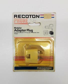 Recoton T-24 Modular Adapter Plug (BRAND NEW!)