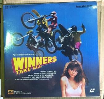 Winners Take All Laserdisc Don Michael Paul Kathleen York New in Plastic
