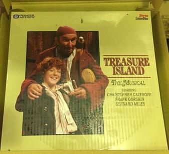 Treasure Island the Musical (1982) Laserdisc Movie - NEW
