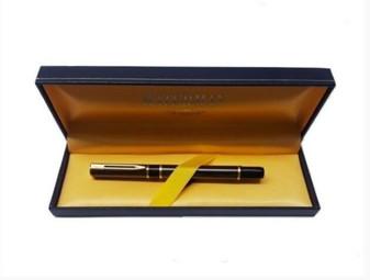 Waterman 18234-3   Black & Gold Fountain Pen   Paris (New!)