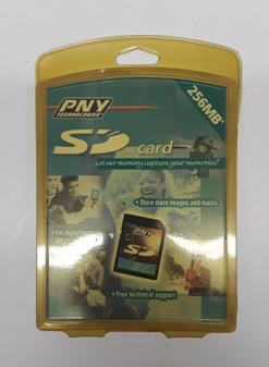 PNY Technologies PSD256-RF 256MB SD Card (BRAND NEW!)