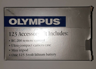 Olympus 123 (RC-200) Accessory Kit (BRAND NEW!)