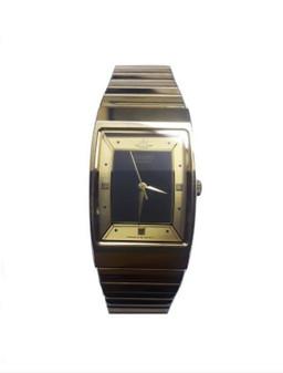 Seiko 090350 | Men's Gold Analog Quartz Wristwatch (New!)