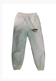 Pokemon | White Windbreaker | Water Proof Track Pants (New!)