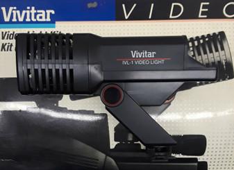 Vivitar IVL-1 Video Light Kit (BRAND NEW!)