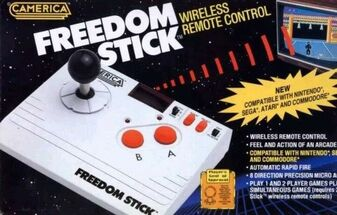 Camerica Freedom Stick   Wireless Remote Control Joystick (New!)