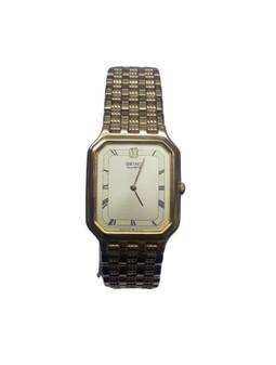 Seiko 013873 | Men's Gold Analog Quartz Wristwatch (New!)